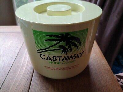 Castaway Ice Bucket / Wine Cooler Retro Vintage. Alcopop Breweriana 1990's