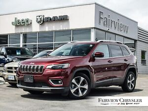 2019 Jeep Cherokee Limited FWD l V6 l HEATED/VENTED LEATHER l
