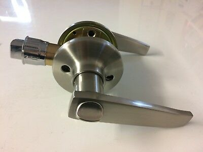 Stainless Steel Toilet Door Handle Lock For Swift Caravan Motorhome TDL8