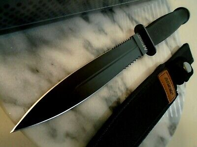 Mtech Blackout Dual Combo Edge Dagger Combat Hunter Knife 440 11 1/2