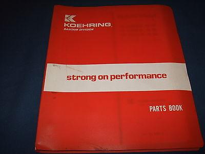 Koehring S 488a 588a 688a B Hydraulic Crane Parts Catalog Book Manual