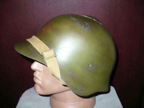 Original USSR RKKA SSH-36 Steel helmet, Red Army, rare, restoration.