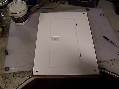 New Square D Qoc24ufw Load Center Cover White 24 Circuit 22 X 15-12