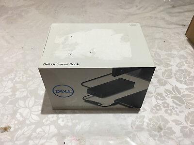 D6000 NEW DELL BOXED UNIVERSAL DOCK w/ 130W AC ADAPTER USB 3.0 / USB-C UHD 4K