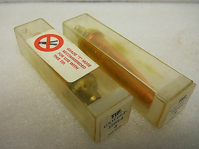 Oxweld 1503 Style 2-piece Torch Tips Size 4 Set Of 2 New Condition In Box