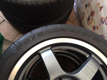 "Stock 17"" Mitsubishi Lancer Evo VIII Enkei Tarmac Wheels + rubber Carlingford The Hills District Preview"