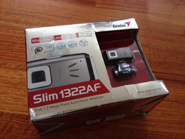 GENIUS SLIM 1322AF MODEL WEBCAM DRIVER FOR MAC DOWNLOAD
