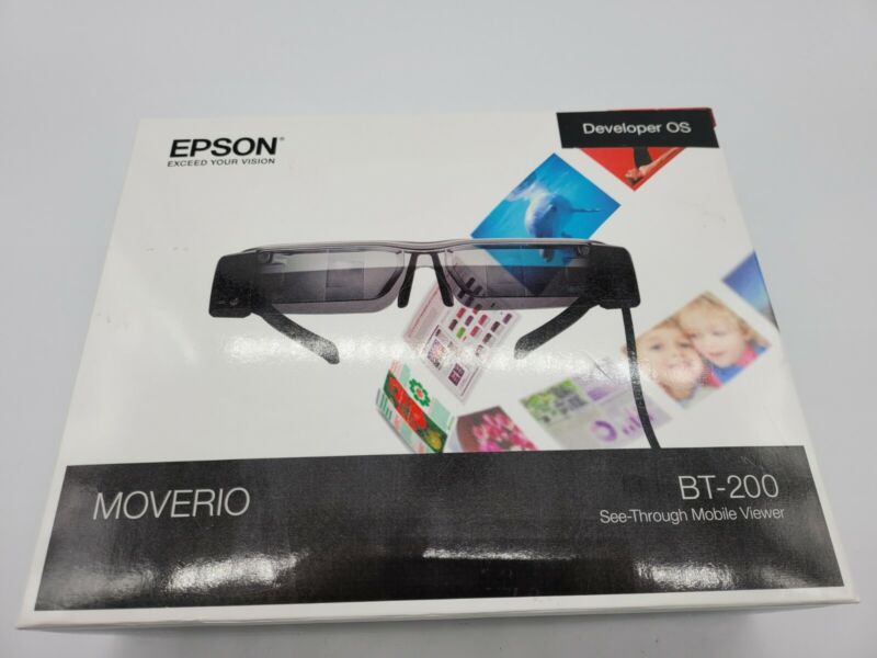 Epson Moverio BT-200 Developer Edition
