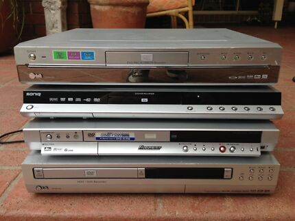 DVD player/recorders working $35 each