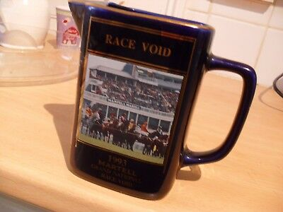 MARTELL GRAND NATIONAL WATER JUG  Race Void ( Esha Ness) 1993