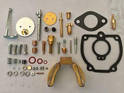 Ih Farmall Super M Major Tractor Carburetor Kit W Float 356948r91 357231r91