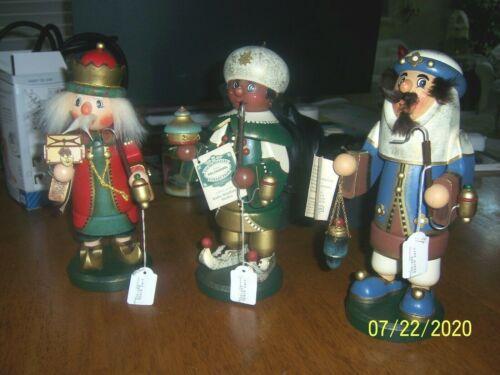 Kathe Wohlfahrt SET Three Wise man  Melchior,Balthazar & Caspar.
