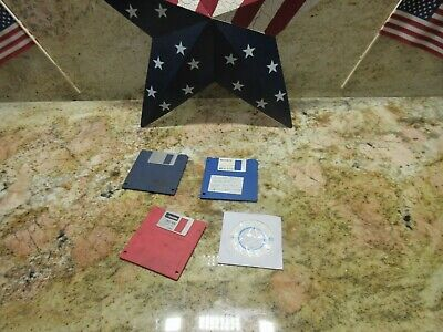 1996 Tree J 425 Cnc Vertical Mill Auto Con Dynapath Floppy Disk Set Combo Lot