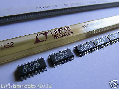 Lt1207cs Linear Technology Dual 250ma 60mhz Operational Amplifier 16-sop Op Amp
