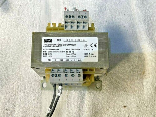 ERC 809634/264 Transformer 230-400-415-440V  USED* From working machine