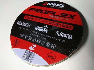 Norton Multifunction para metales, 115 x 2,2 x 22,2 mm Disco para cortar y desbastar