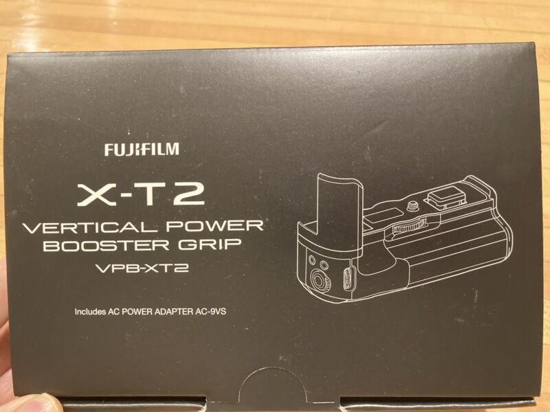 Fujifilm VPB-XT2 Vertical Power Booster Grip EXCELLENT in box