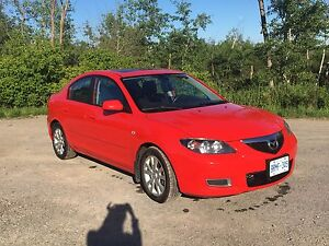 Gorgeous Candy Apple Red Mazda 3 2009
