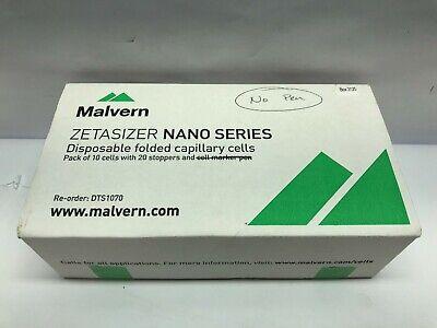 1 Malvern Zetasizer Disposable Folded Capillary Cells Dts1070