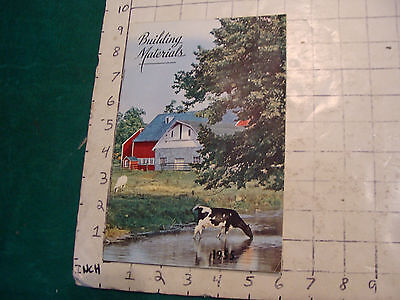 Vintage Catalog Building Materials 1955 22pgs From Merrimack Paint Roofing