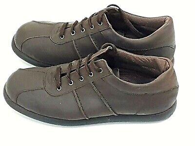 Mens Burton Leather Casual Leather Shoes Rubber Soles Size 9 EU 43