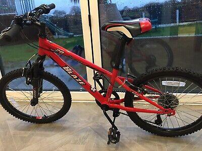 Boy's 20inch 6 Gear Red Blaze Bike