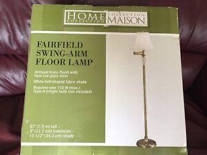 Floor lamp - swing arm