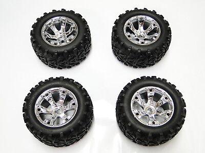 Photo NEW TRAXXAS REVO 3.3 Wheels & Tires Set E REVO RR28