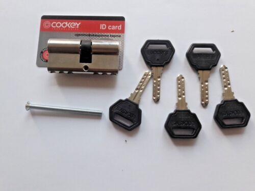 CODKEY /LOCKSYS/ High Security Cylinder Lock/With 5 Keys And ID Card
