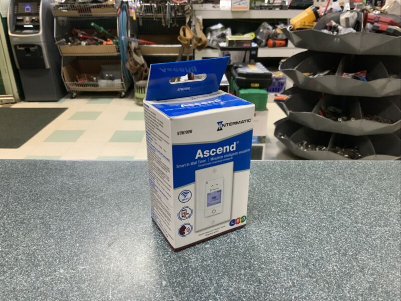 NEW Intermatic Ascend Smart In-Wall Timer STW700W
