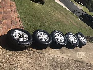 Path finder wheels and tyres for sale Bellbird Park Ipswich City Preview