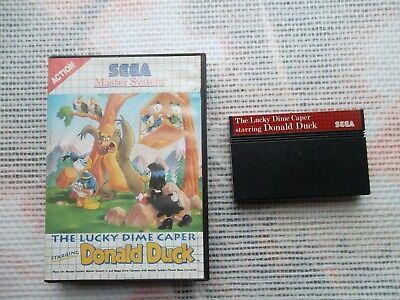 Jeu Master system / Ms Game The Lucky Dime Caper + Boite SEGA retro original*
