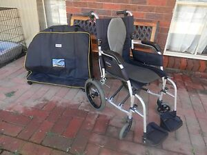 Karma Ergo Lite Deluxe Transit Wheelchair Maryborough Central Goldfields Preview