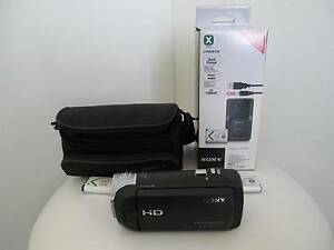 SONY Digital HD Video Camera Recorder  Handycam w/ battery Charge Chadstone Monash Area Preview