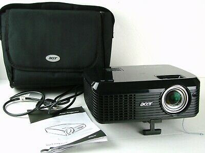 Acer QNX0902 X1230PS DLP 3D Ready Conference Room Projector Manual & Carry Case