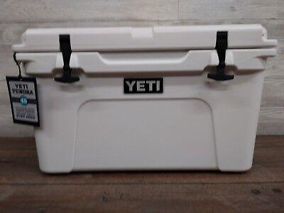 Yeti 45 Quart White  Cooler    New  In The Yeti Box