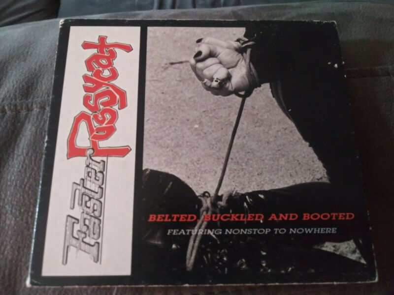 FASTER PUSSYCAT-BELTED, BUCKLED AND BOOTED CD