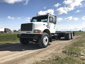1997 International 4900 Tandem Cab and Chassis