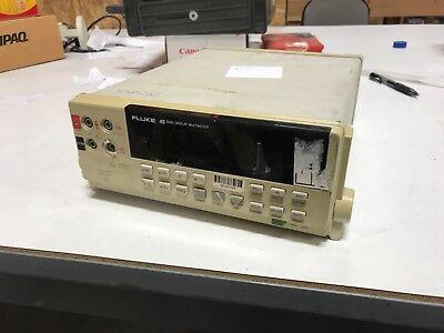 Fluke 45 Dual Display Digital Multimeter Optieee-488