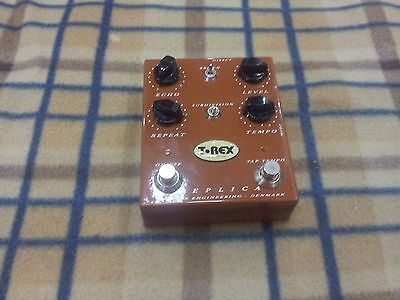 T-Rex Replica Delay / Echo Effect Guitar Pedal Free Shipping Worldwide for sale  Shipping to United States