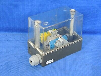 Junction Box 6x3.5x5 With 35 Mm Din Rail And 5 Terminal Blocks