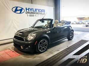 MINI COOPER S CONVERTIBLE MANUELLE + MAGS + STYLE/ESSENTIAL PACK