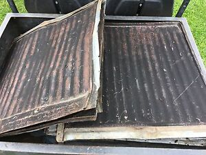 Antique shingles (steel roofing)