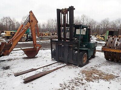 Clark C500-y155d Outdoor Forklift Diesel 15000 Lb 96 Forks Fork Truck