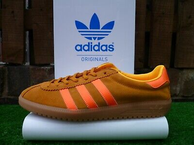 VINTAGE ADIDAS BERMUDA TAN/WARNING 80'S CASUALS UK 8.5 BNIB 2016 ISLAND SERIES
