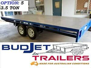 TRAILER HIRE BRISBANE 3.5T 4.8M FLAT DECK TRAILER FROM $90 P/D THIS AD