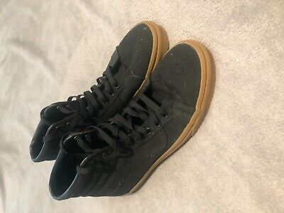 Vans Hightop Black Trainers Size 9.5
