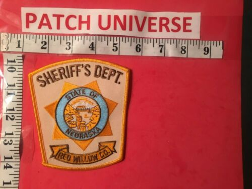 RED WILLOW CO NEBRASKA  SHERIFF  SHOULDER PATCH  F012