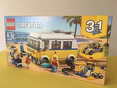 LEGO Creator 3 in 1 Sunshine Surfer Van 31079 New Factory Sealed Box Retired Set