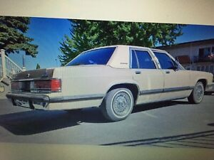 1989 Mercury Grand Marquis G8